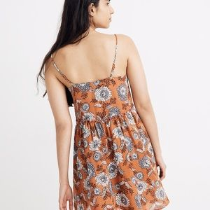 Madewell Dresses - Babydoll Cami Dress in Gathered Blooms